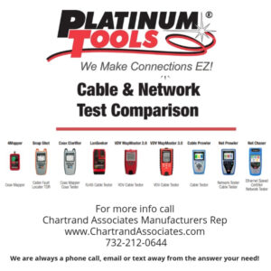 Platinum Tools Cable and Network Test Comparison